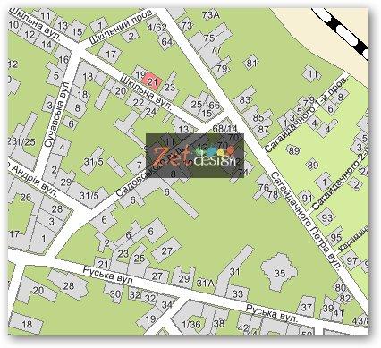eCity - Луганск :: Карта